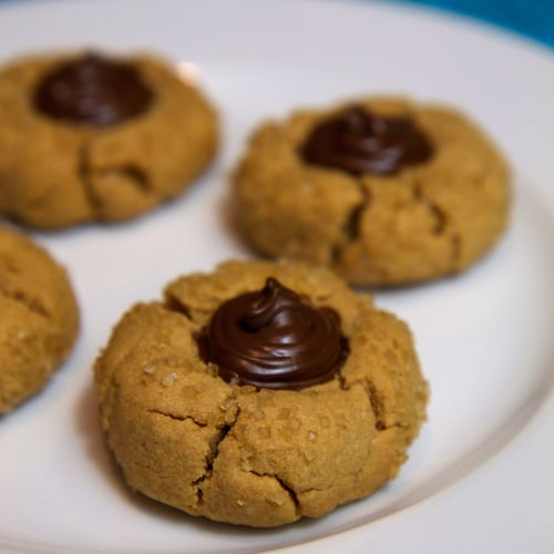 (I Can't Believe They're) Vegan Peanut Butter Kiss Cookies