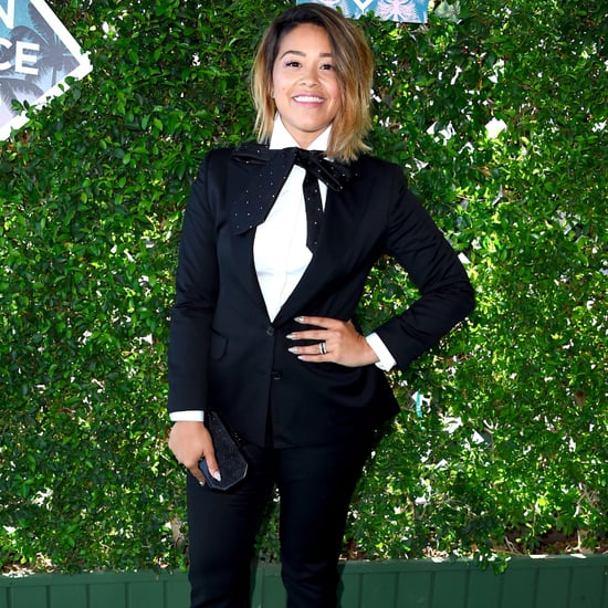 Gina Rodriguez's Tuxedo at Teen Choice Awards 2016