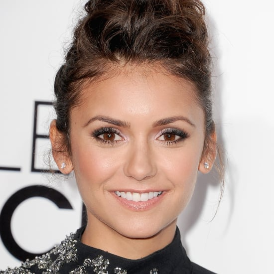 Nina Dobrev Hair and Makeup at People's Choice Awards 2014