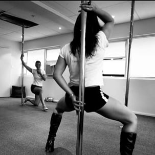 Women Embrace Pole Dancing For Jesus