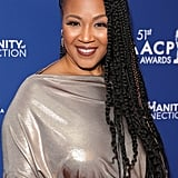 Erica Campbell at the 2020 NAACP Image Awards Dinner