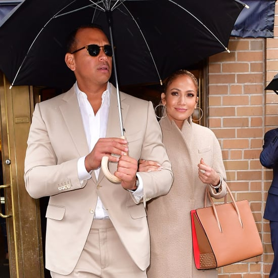 Jennifer Lopez and Alex Rodriguez Matching Outfits 2017
