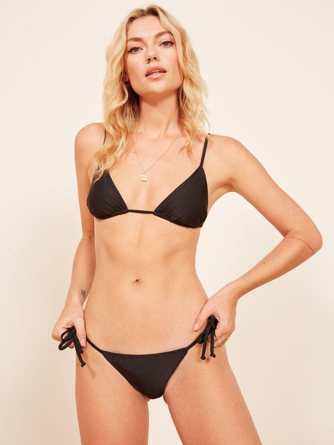 a133b656d449f Reformation Elliot Bikini Top