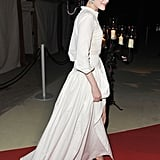 Diane Kruger Dons a New Dress For Dinner With George, Cindy, and Rande