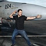 Chris Pratt at Marine Corps Base in San Diego Photos 2016