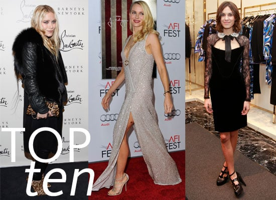 Top Ten Best Dressed Celebrities of the Week including Olivia Palermo, Alexa Chung, Kristen Stewart, Mary-Kate Olsen & more!