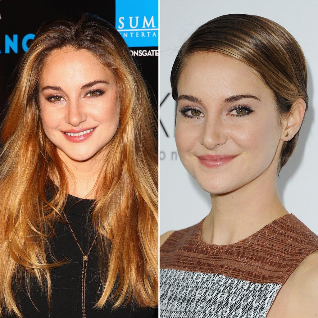Shailene Woodley Celebrities Who Cut Their Hair Short Hairstyle