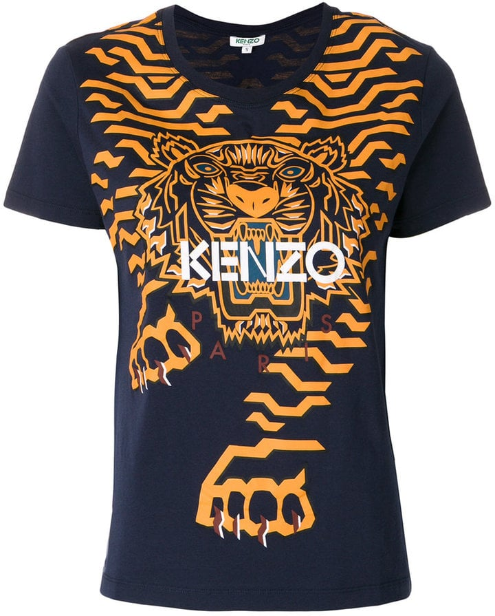 kenzo geo tiger t shirt best disney princess gifts for. Black Bedroom Furniture Sets. Home Design Ideas