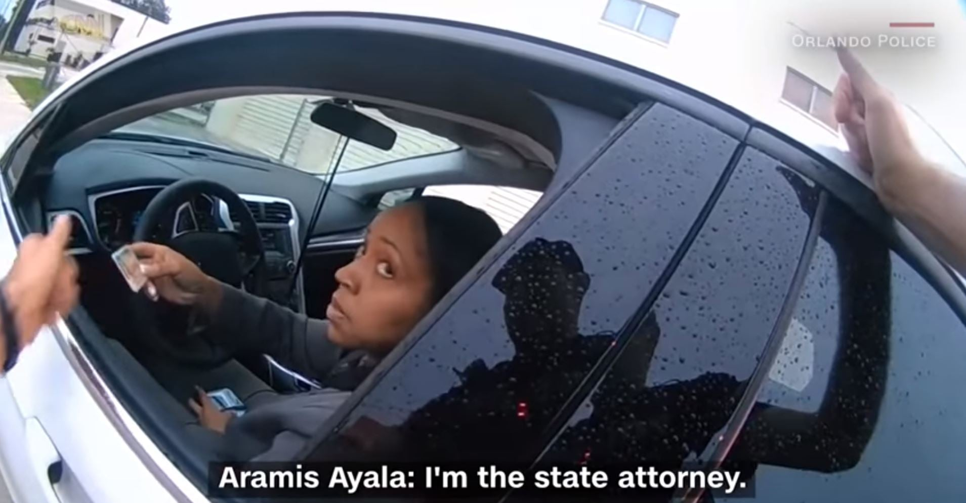 cops pull over state attorney aramis ayala popsugar australia news. Black Bedroom Furniture Sets. Home Design Ideas
