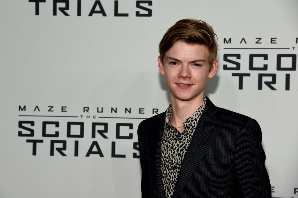 Thomas Brodie-Sangster as a First Order Officer