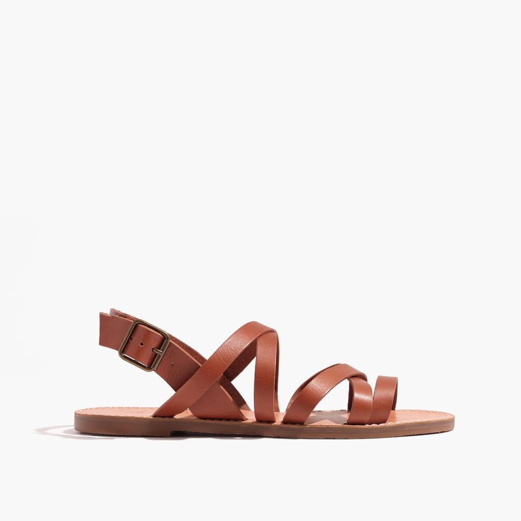 Madewell's The Boardwalk Multistrap Sandals ($70) are sturdy and simple.