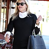 Reese Witherspoon wore a black and white ensemble in LA.