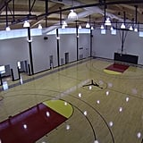 Regulation Basketball Court
