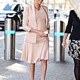 Meghan Re-Wore Her Aquazzura Heels in January 2019