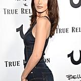 Bella Hadid True Religion Denim Outfit