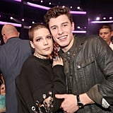 Pictured: Shawn Mendes and Halsey