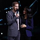 Meghan Markle's Navy Blazer and Black Jeans March 2019