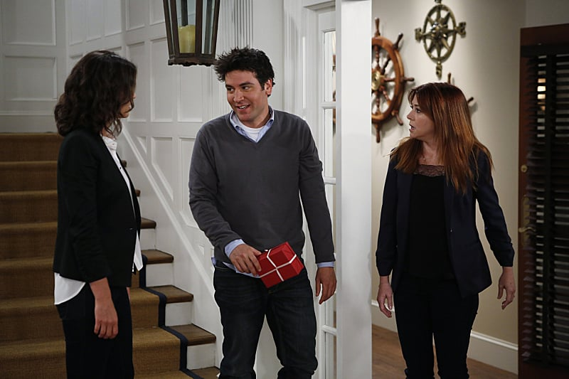 Cobie Smulders, Josh Radnor, and Alyson Hannigan on How I Met Your Mother.