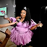 Lizzo's Bedazzled Bottle of Tequila at the 2019 MTV VMAs