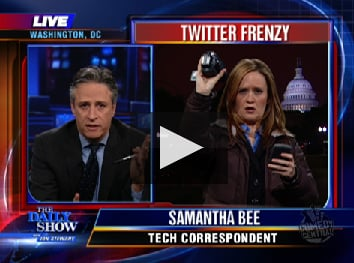 Samantha Bee of The Daily Show Explains Twitter