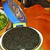 Caviar and smoked salmon
