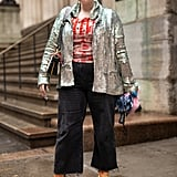 Add Some Sparkle to Your Outfit With a Sequinned Jacket