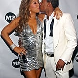 Mariah Carey and Nick Cannon rang in the 2010 with a sweet kiss in NYC on New Year's Eve in December.