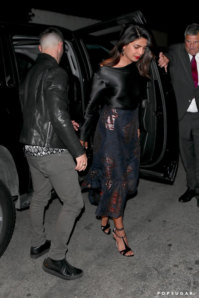 Nick Jonas and Priyanka Chopra on a Date in LA May 2018
