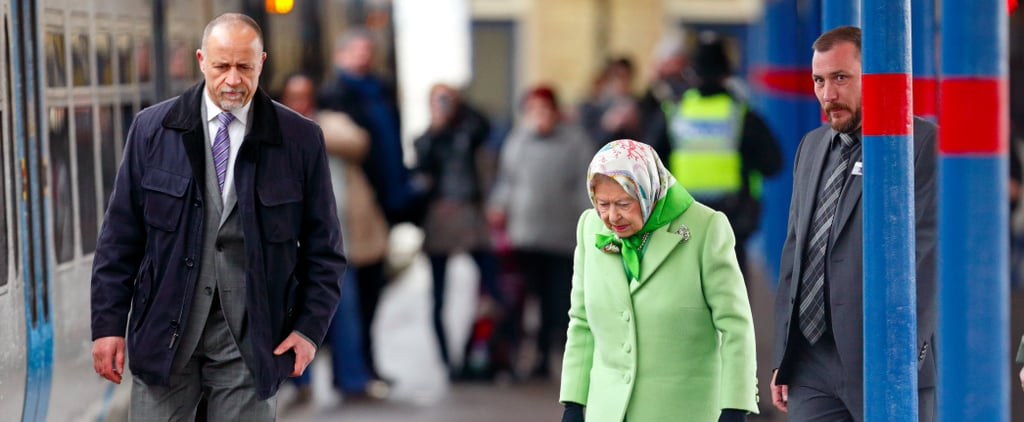 Queen Elizabeth II Hops on a Train at King's Lynn Station Like It's No Big Thing