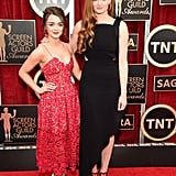 The real-life pals hit the red carpet together at the SAG Awards in LA in January 2015.