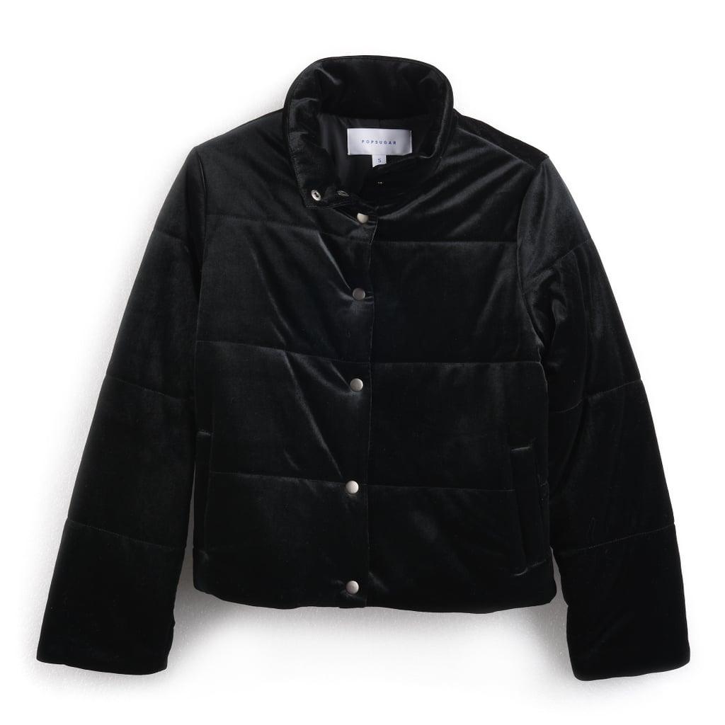 Velvet Puffer Jacket