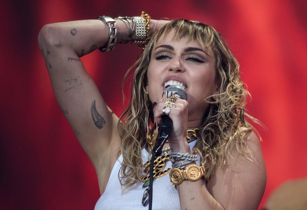 Miley Cyrus, Billy Ray, Lil Nas X at Glastonbury 2019 Video