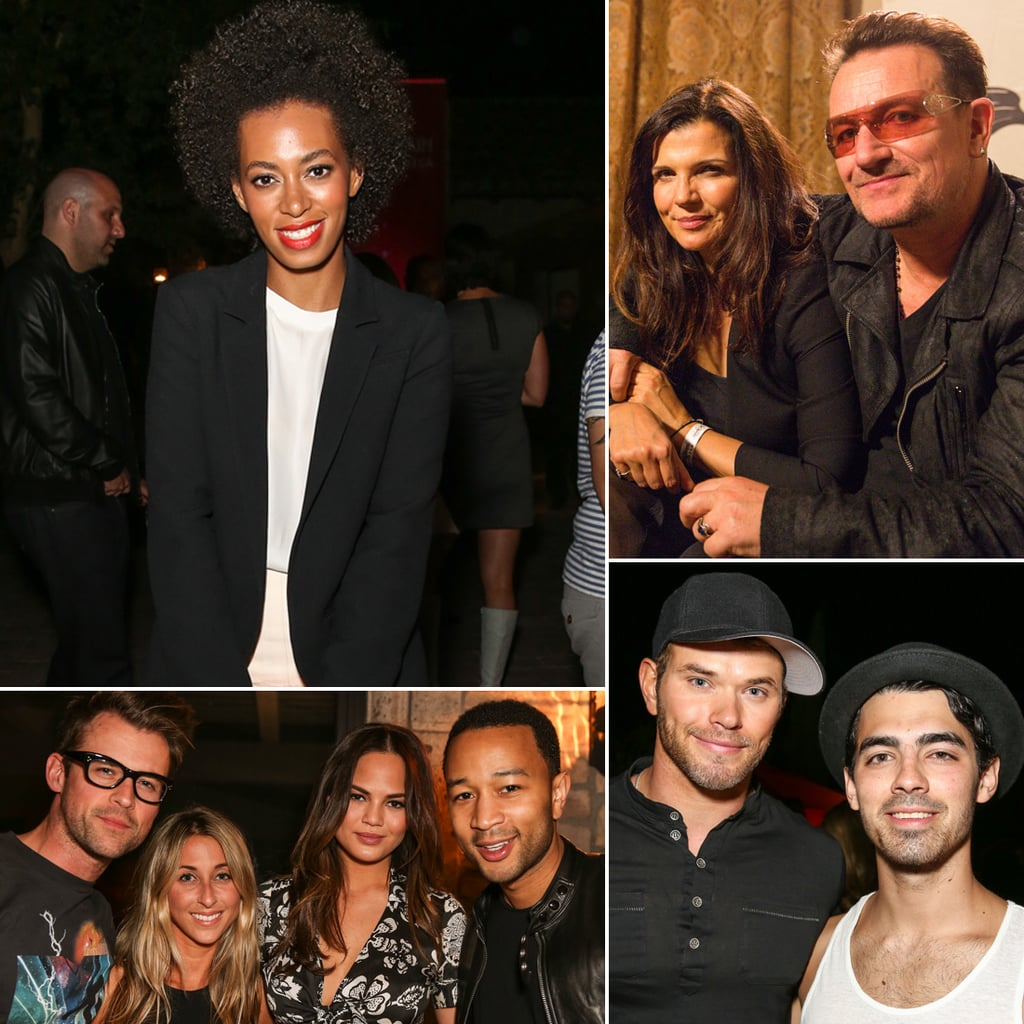 Stars at Diesel and Edun's Coachella Party 2013 | Pictures