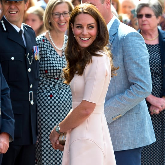 Kate Middleton Wearing Wedges September 2016