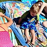 At the Beach: Musical Towels