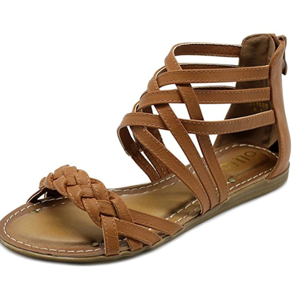 Ollio Gladiator Sandals From Amazon Review