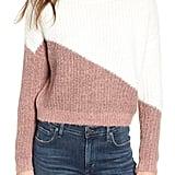 Bishop + Young Diagonal Colorblock Sweater