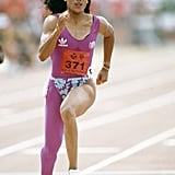 Florence Griffith-Joyner at the 1988 Olympic Games