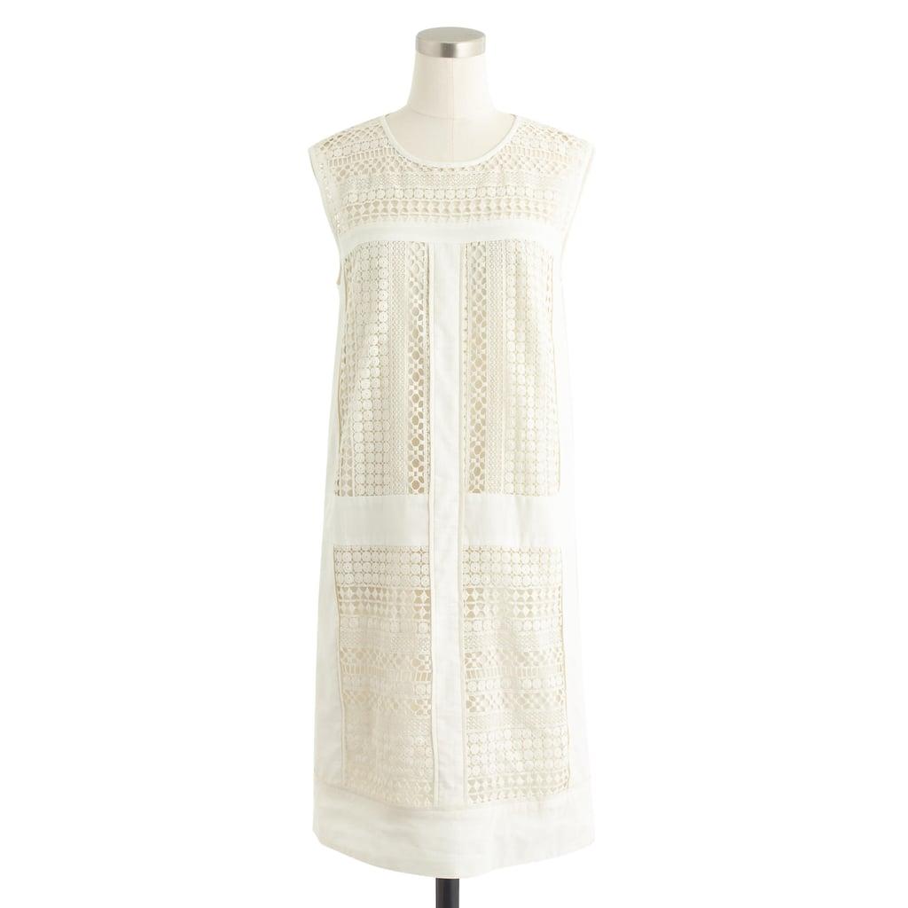 J.Crew Geo Lace Shift Dress ($148)