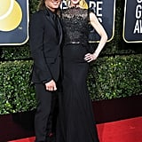 Keith and Nicole were one of the best dressed couples at the 2018 Golden Globes.