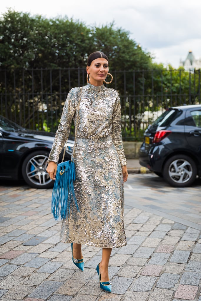 Giovanna Battaglia gives us a master class in sequins.