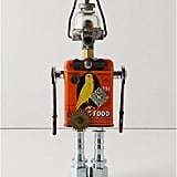 Photos of the Amy Flynn Found Object Robots from Anthropologie