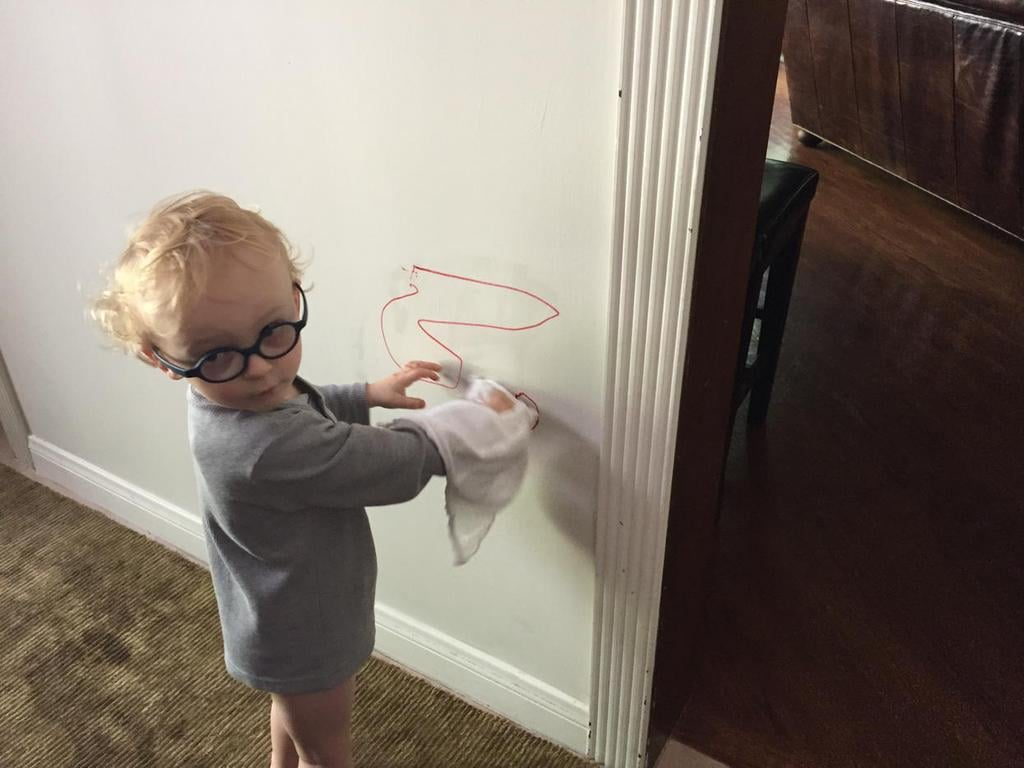 """Anna: """"Love saving $ on things like house painters-Jack has it taken care of-should I be worried about US child labor laws?"""""""