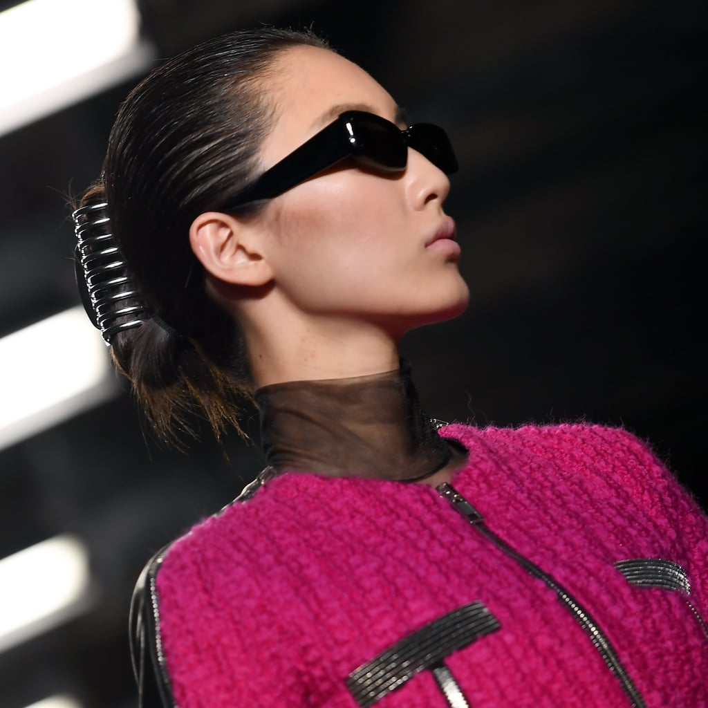 Alexander Wang Hair Claw At New York Fashion Week 2018