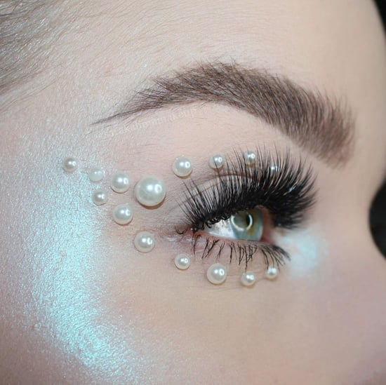 Pearl Makeup Beauty Trend
