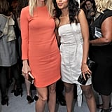 Gwyneth posed with Kerry Washington at the Elle Women in Hollywood event in October 2010.