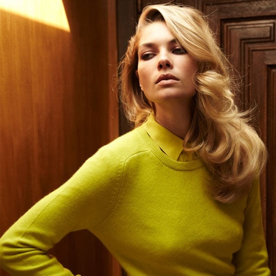 Jessica Hart Models Equipment's New Cashmere Knit Collection: Snoop the Luxe Look Book