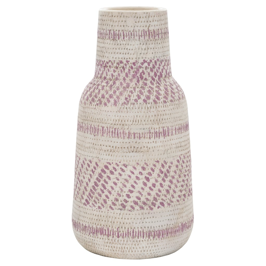Threshold Pink Earthenware Vase