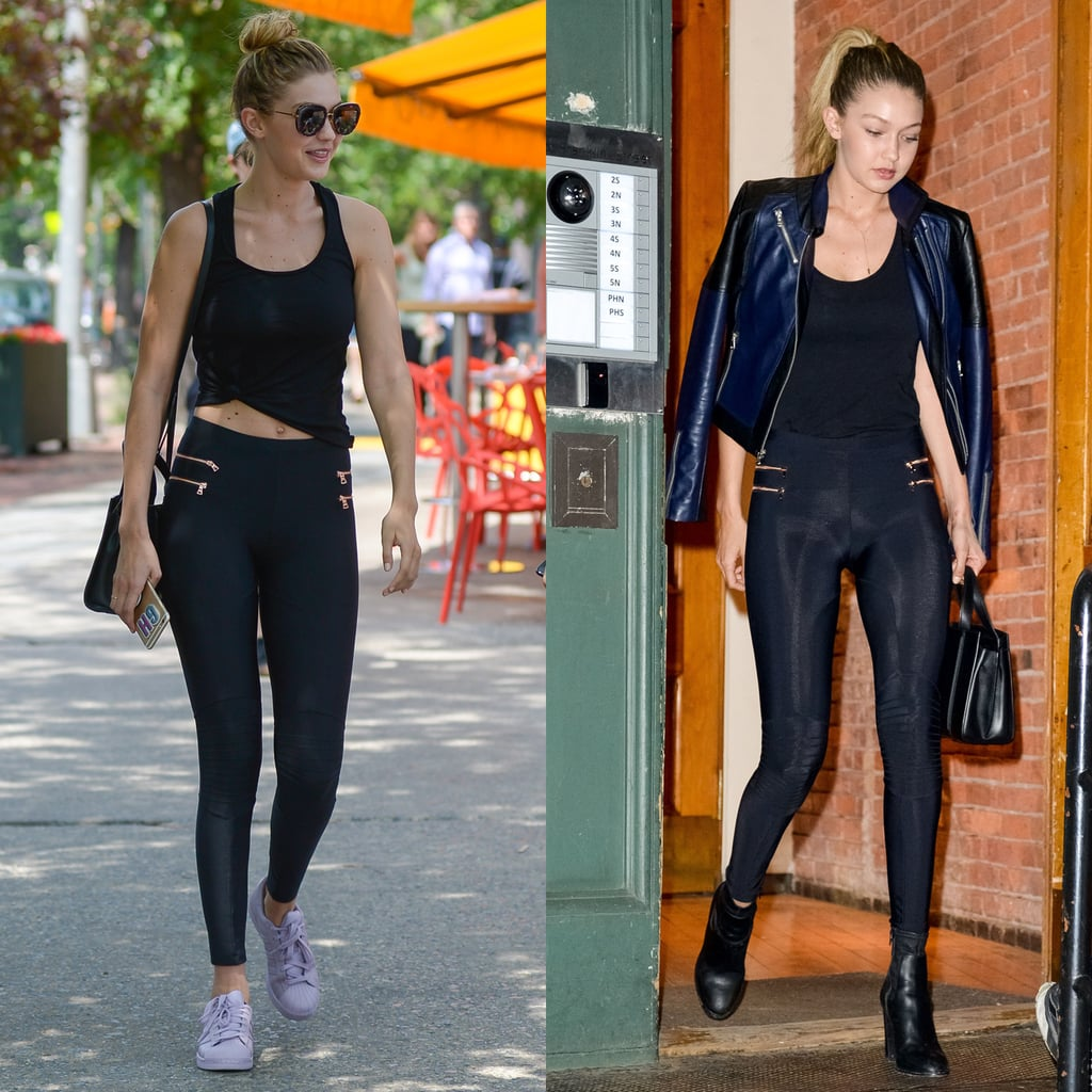 Gigi Hadid Took Her Look From Day to Night With Just 2 Pieces