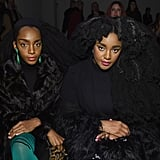 Cipriana Quann and TK Wonder at The Blonds Fall 2019